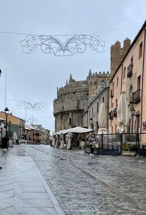 Catedral de Avila para acuarela