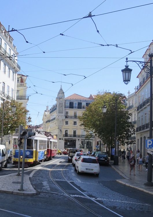 Lisboa Parta acuarela fermin lopez