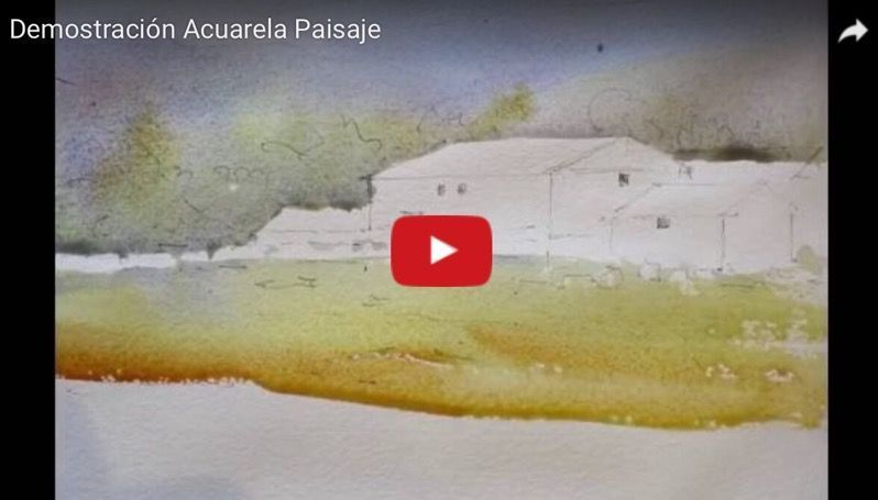 Video Demo Acuarela Paisaje