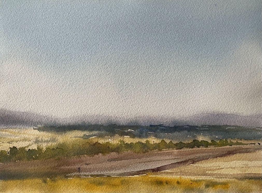 acuarela paisaje Fermin Lopez