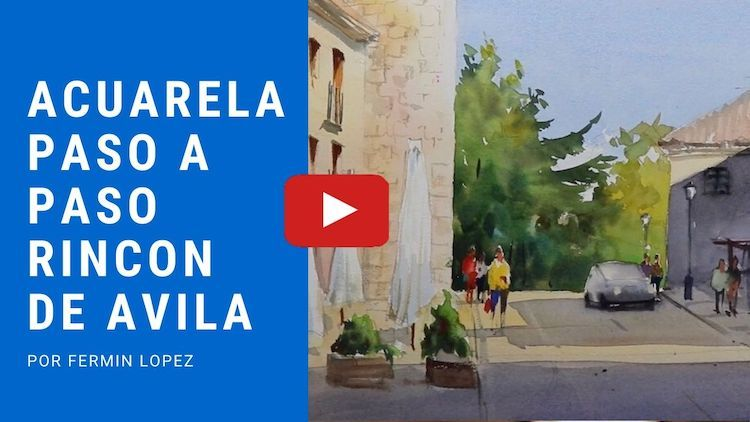 Acuarela avila video