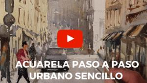 video demo acuarela Lisboa