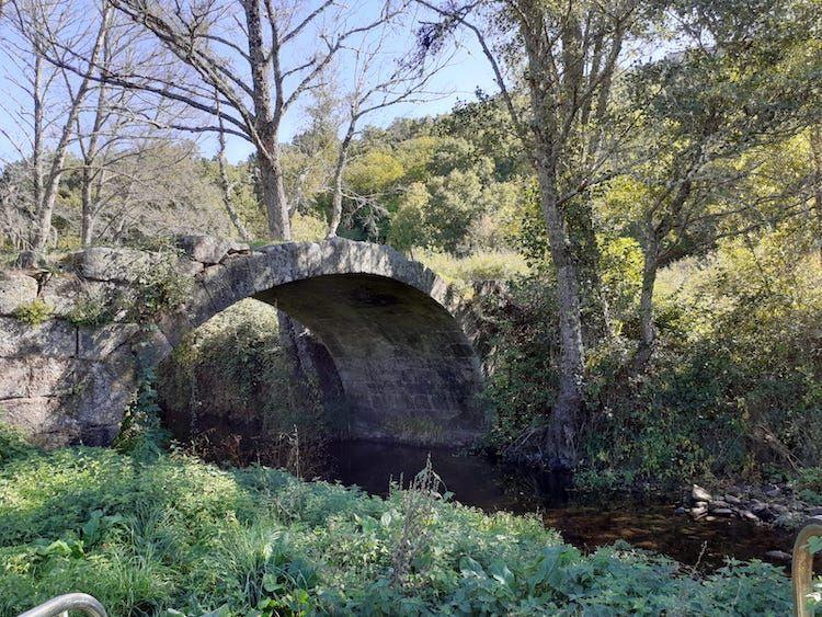 foto puente acuarela